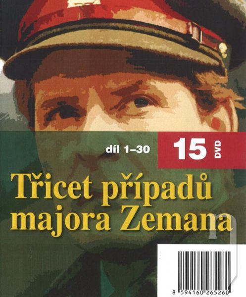 DVD Film - 30 prípadov majora Zemana (15 DVD)