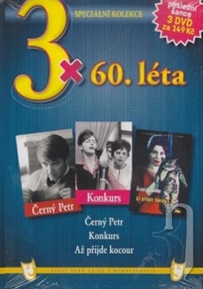 DVD Film - 3x 50 - 60 léta 3 DVD (pap. box)