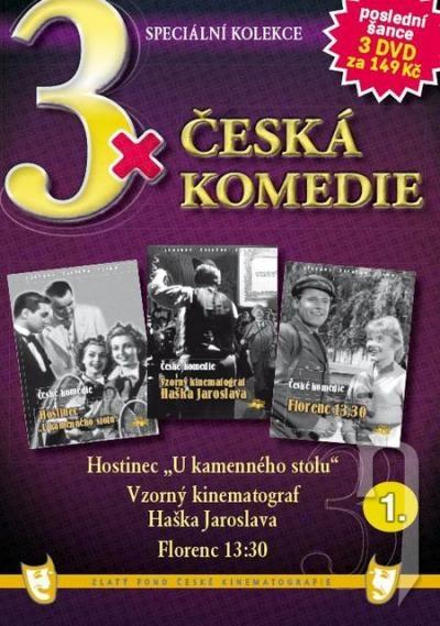 DVD Film - 3x Česká komedie I. (papierový box) FE