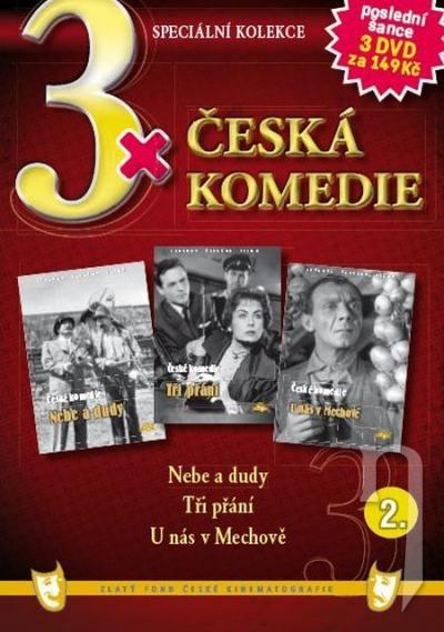 DVD Film - 3x Česká komedie II. (papierový box) FE