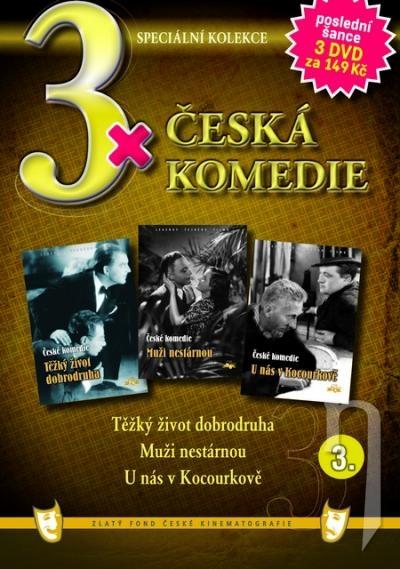 DVD Film - 3x Česká komedie III. (papierový box) FE