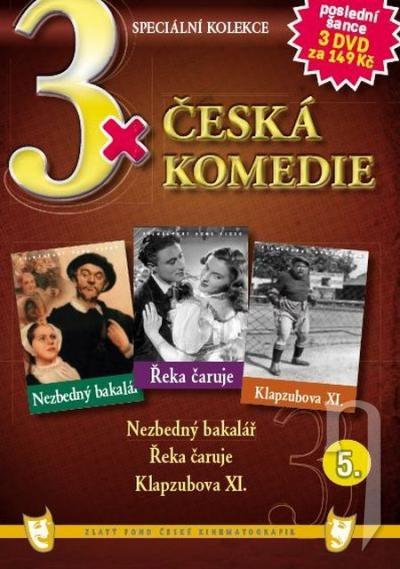 DVD Film - 3x Česká komedie V. (papierový box) FE