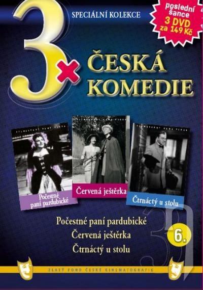 DVD Film - 3x Česká komedie VI. (papierový box) FE
