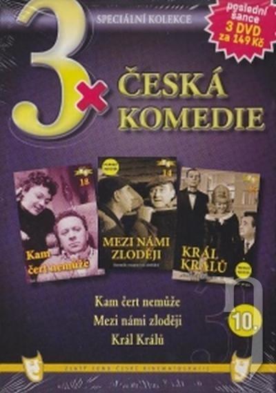 DVD Film - 3x Česká komedie X. (papierový box) FE