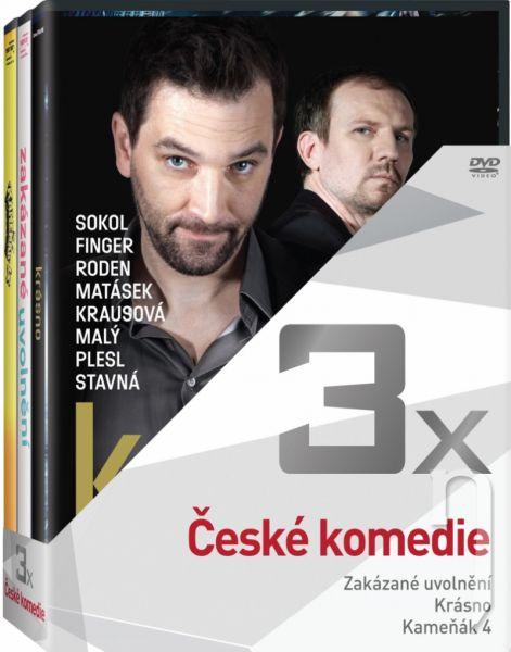 DVD Film - 3DVD České komedie