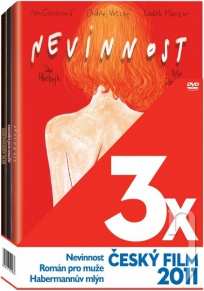 DVD Film - 3x Český film 2011 (3 DVD)