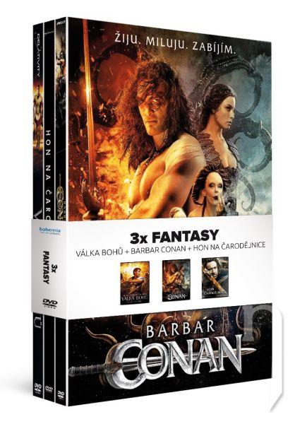 DVD Film - 3x Fantasy (3 DVD)
