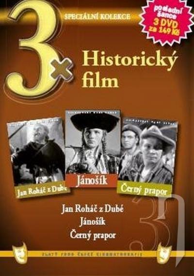 DVD Film - 3x Historický film (pap. box) FE