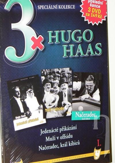 DVD Film - 3x Hugo Haas I. (3 DVD)
