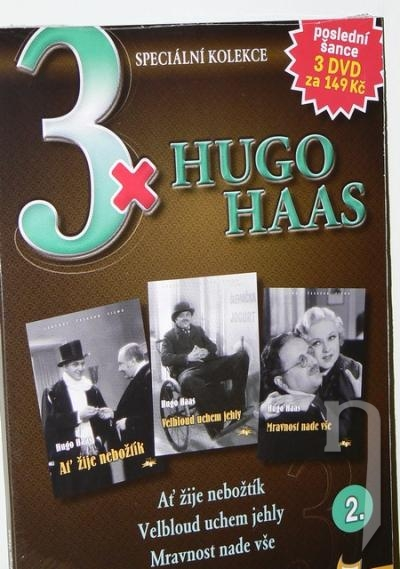 DVD Film - 3x Hugo Haas II. (3 DVD)