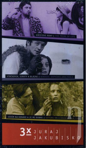 DVD Film - 3x Juraj Jakubisko