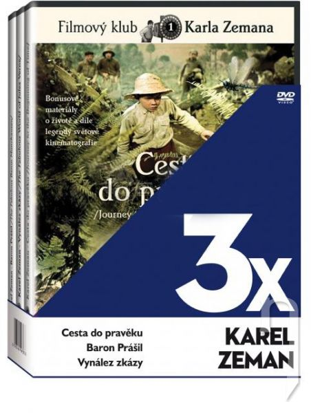 DVD Film - 3x Karel Zeman (3 DVD)