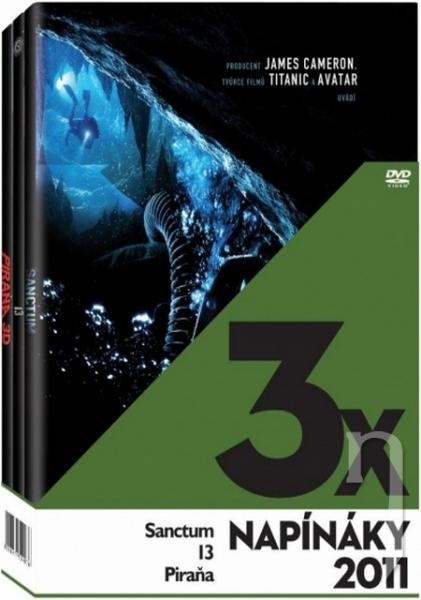 DVD Film - 3x Napínáky 2011 (3 DVD)