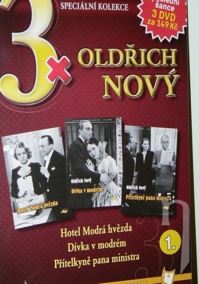 DVD Film - 3x Oldřich Nový I. (3DVD)