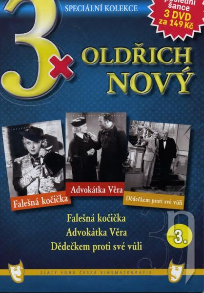 DVD Film - 3x Oldřich Nový III. (3DVD)