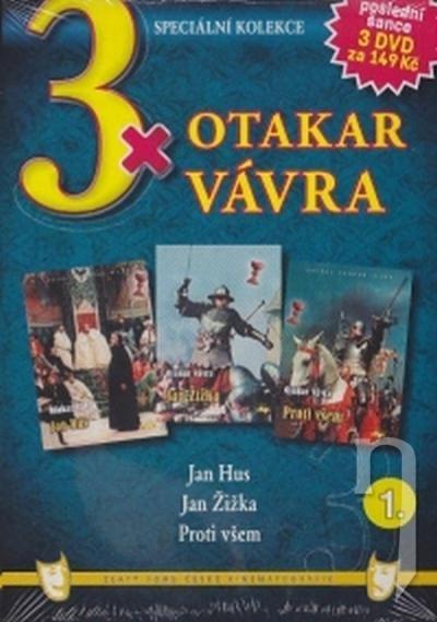 DVD Film - 3x Otakar Vávra I - 3 DVD (pap.box)