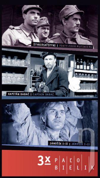 DVD Film - 3x Paľo Bielik (3 DVD)