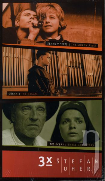 DVD Film - 3x Štefan Uher