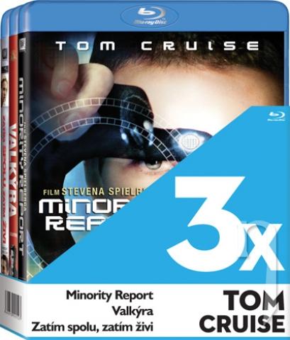 BLU-RAY Film - 3x Tom Cruise  (Valkýra, Minority Report, Zatím spolu,zatím živí - 3 Bluray)