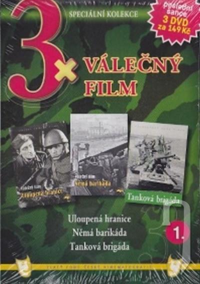 DVD Film - 3x Válečný film 1. (pap. box) FE
