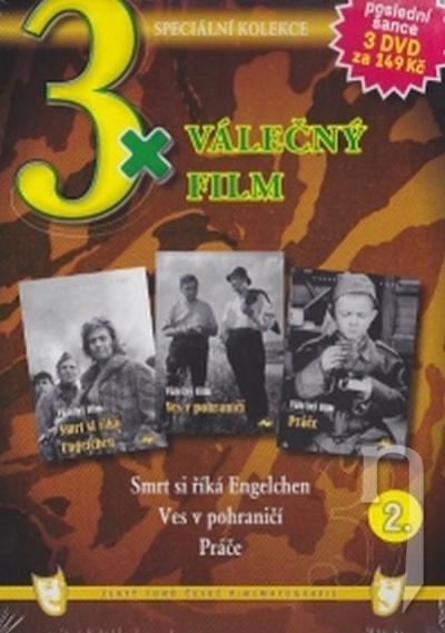 DVD Film - 3x Válečný film II. (pap. box) FE