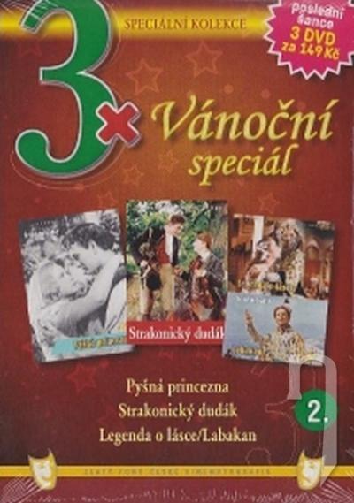 DVD Film - 3x Vianočný špeciál 2. (pap. box) FE