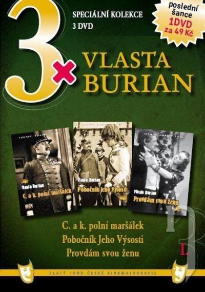 DVD Film - 3x Vlasta Burian I.  FE