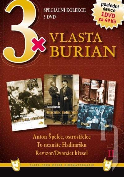 DVD Film - 3x Vlasta Burian II. FE