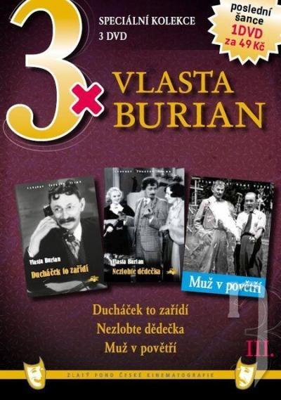 DVD Film - 3x Vlasta Burian III.  FE