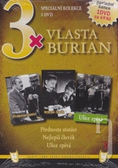 DVD Film - 3x Vlasta Burian V.  FE