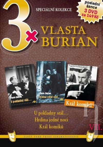 DVD Film - 3x Vlasta Burian VII.  FE