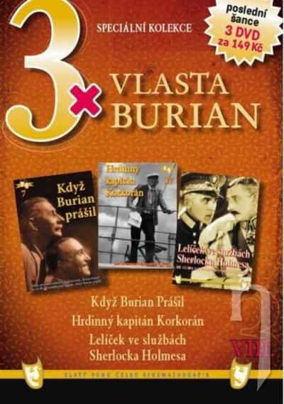DVD Film - 3x Vlasta Burian VIII.  FE