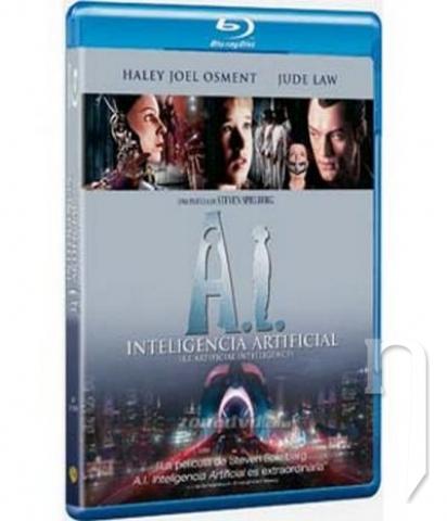 BLU-RAY Film - A.I. Umelá inteligencia (Bluray)