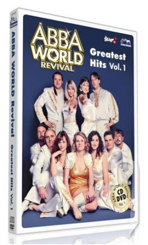 DVD Film - ABBA WORLD REVIVAL - Greatest Hits Vol. 1 (1cd+1dvd)