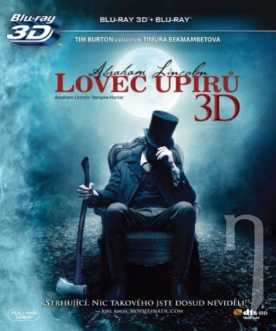 BLU-RAY Film - Abraham Lincoln: Lovec upírov 3D/2D