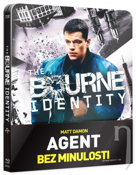 BLU-RAY Film - Agent bez minulosti (steelbook)