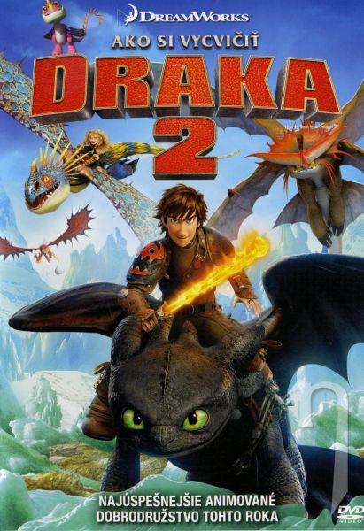 DVD Film - Jak vycvičit draka 2