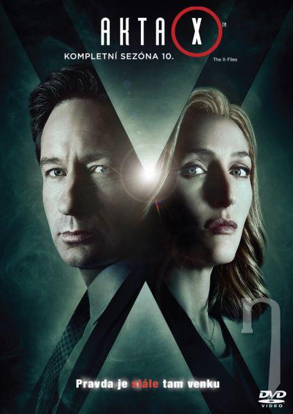 DVD Film - Akta X 10. sezóna (3 DVD)