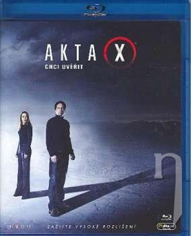 BLU-RAY Film - Akty X: Chcem uveriť (Blu-ray)