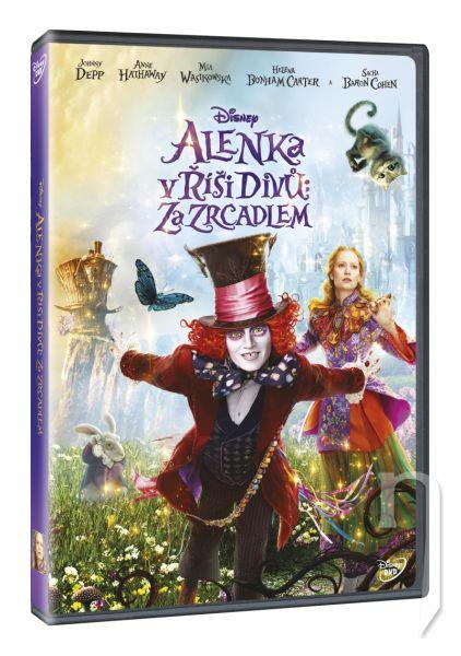 DVD Film - Alenka v říši divů: Za zrcadlem