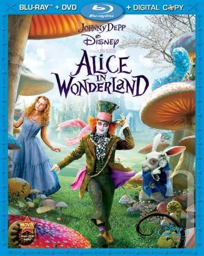 BLU-RAY Film - Alica v krajine zázrakov (Blu-ray 3D + 2D)