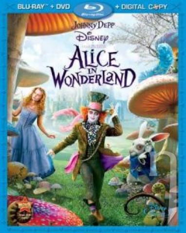 BLU-RAY Film - Alica v krajine zázrakov (Blu-ray + DVD)