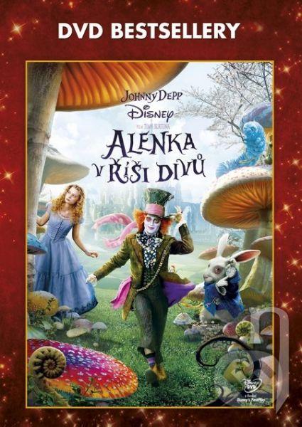 DVD Film - Alenka v říši divů
