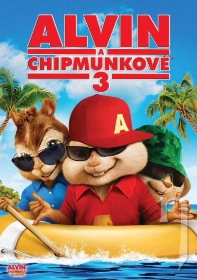 DVD Film - Alvin a Chipmunkovia 3