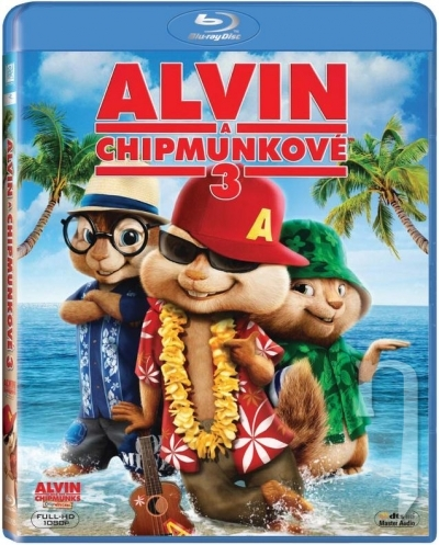 BLU-RAY Film - Alvin a Chipmunkovia 3