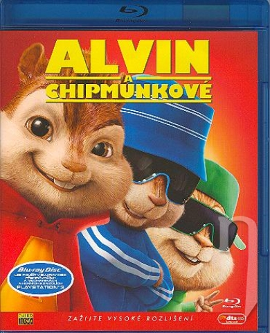 BLU-RAY Film - Alvin a Chipmunkovia (Blu-ray)