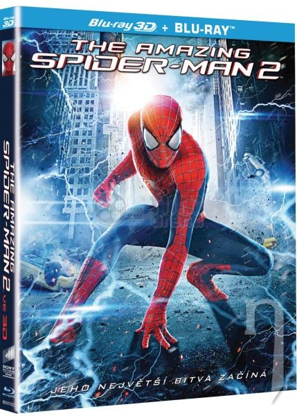 BLU-RAY Film - Amazing Spider-Man 2 3D+2D