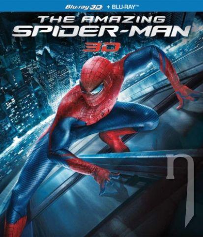 BLU-RAY Film - Amazing Spider-Man 3D/2D + figúrka