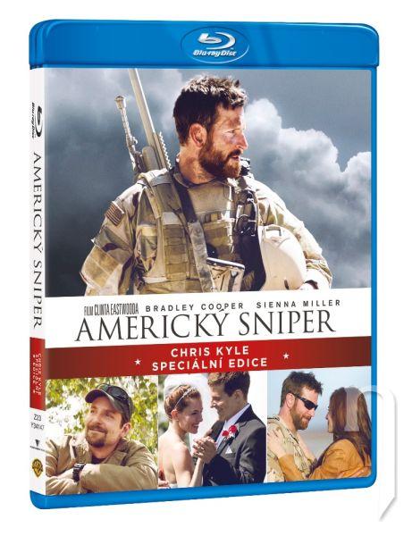 BLU-RAY Film - Americký sniper (2 Bluray)