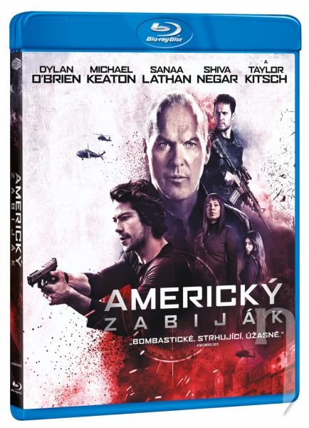 BLU-RAY Film - Americký zabijak